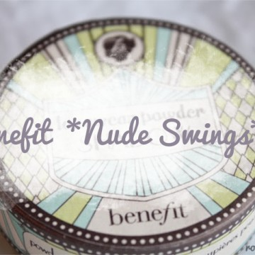 Benefit eyeshadow Nude Swings